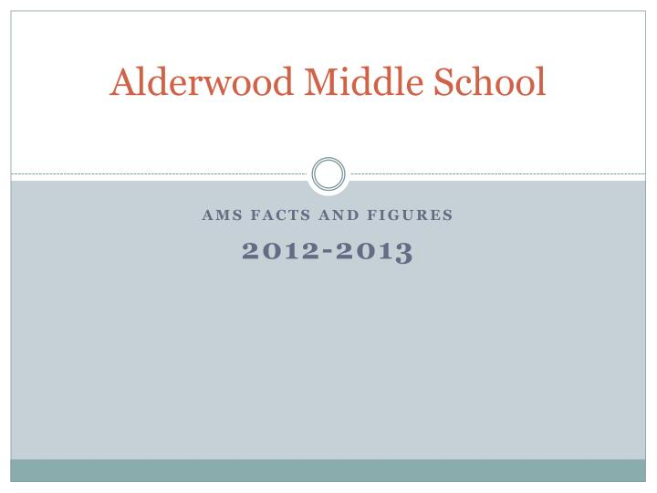 alderwood middle school n.