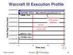 warcraft iii execution profile