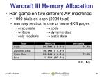 warcraft iii memory allocation