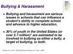 bullying harassment