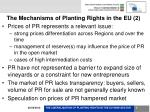 the mechanisms of planting rights in the eu 2