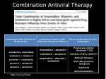 combination antiviral therapy
