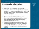 commercial information47