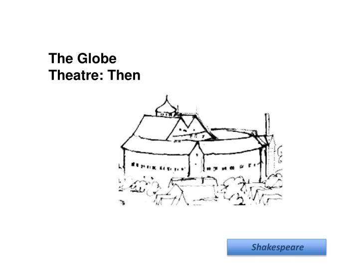 The Globe Theatre: Then