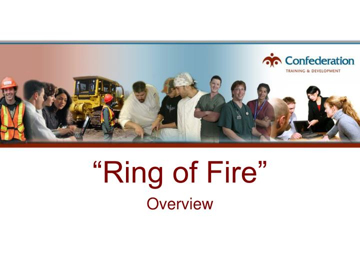 ring of fire n.
