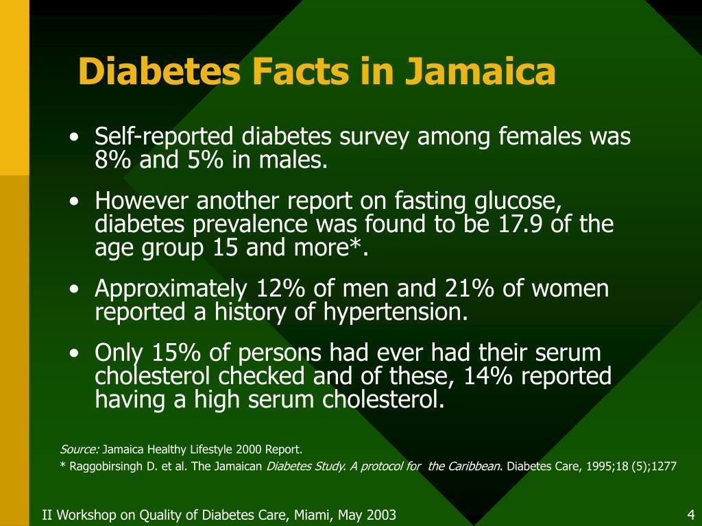 Diabetes Facts in Jamaica