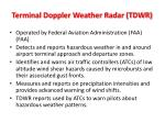 terminal doppler weather radar tdwr1