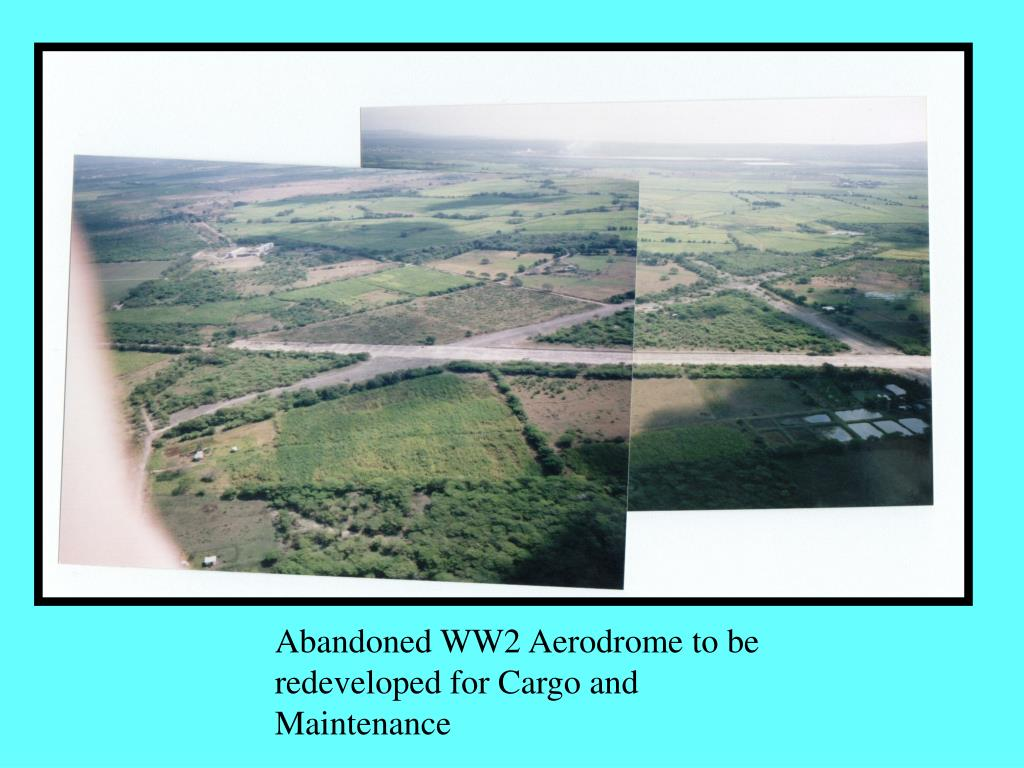Abandoned WW2 Aerodrome to be redeveloped for Cargo and Maintenance