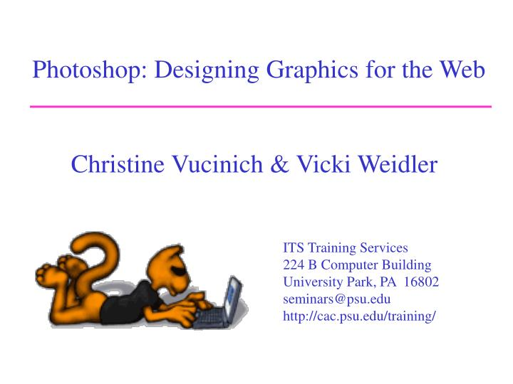 photoshop designing graphics for the web n.
