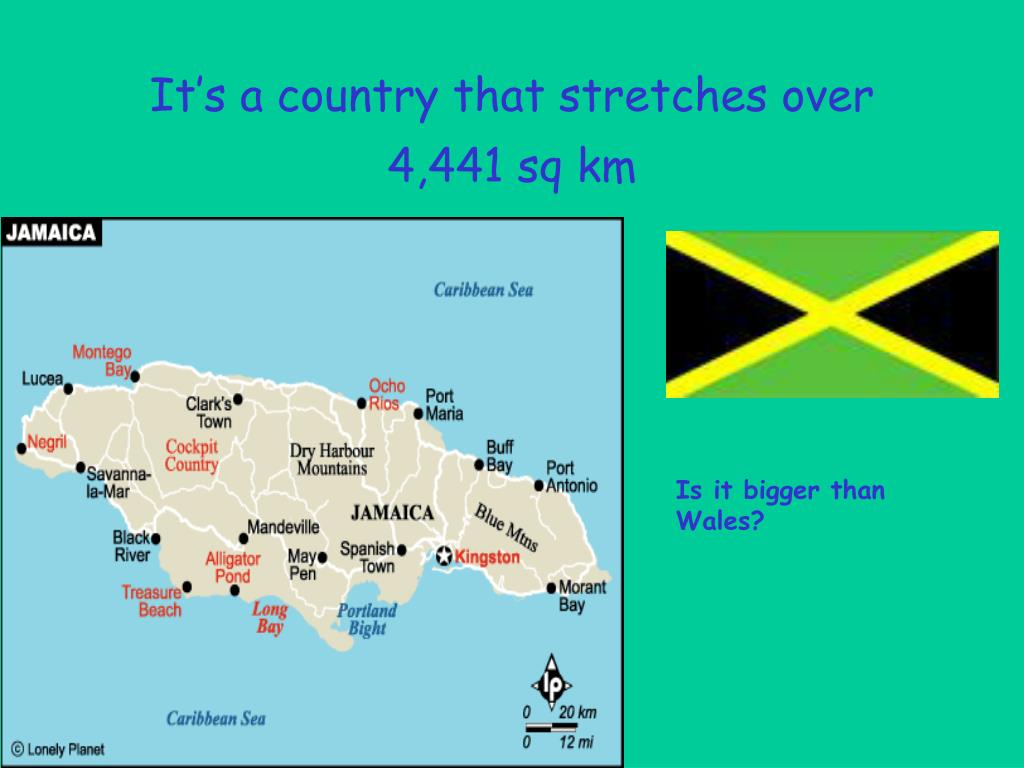 It's a country that stretches over 4,441 sq km
