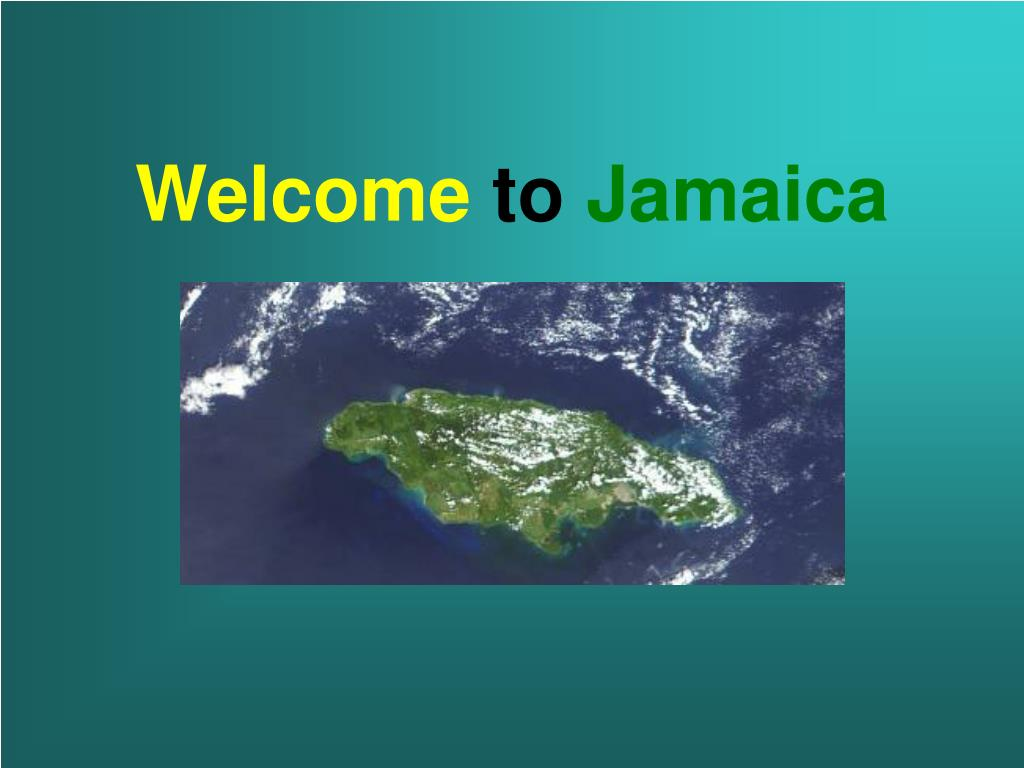 welcome to jamaica l.