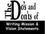 writing mission vision statements