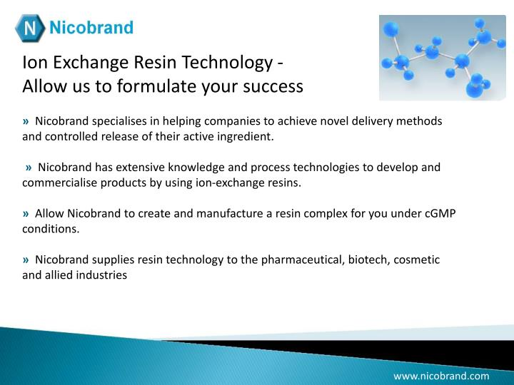 Ion Exchange Resin Technology -