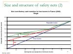 size and structure of safety nets 2