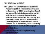 the brazilian miracle