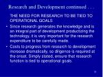 research and development continued4