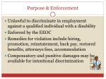 purpose enforcement