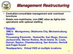 management restructuring2