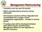 management restructuring3