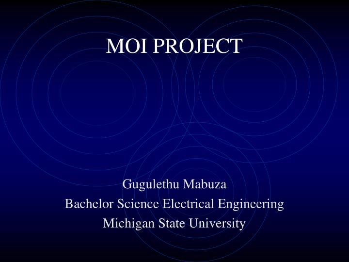 moi project n.