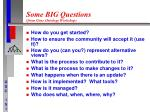 some big questions from gene ontology workshop