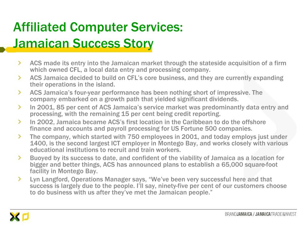 Affiliated Computer Services: