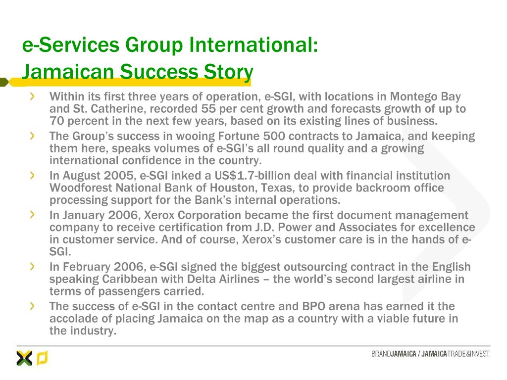 e-Services Group International: