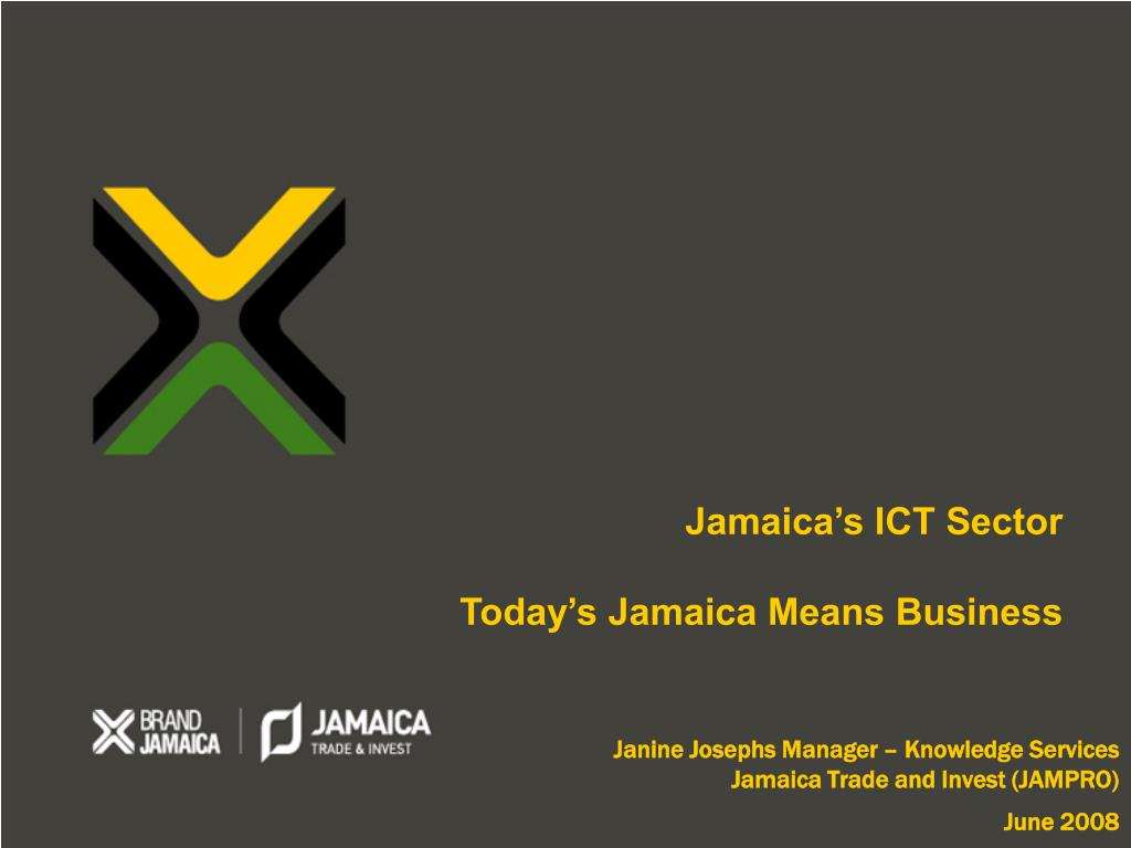 janine josephs manager knowledge services jamaica trade and invest jampro june 2008 l.