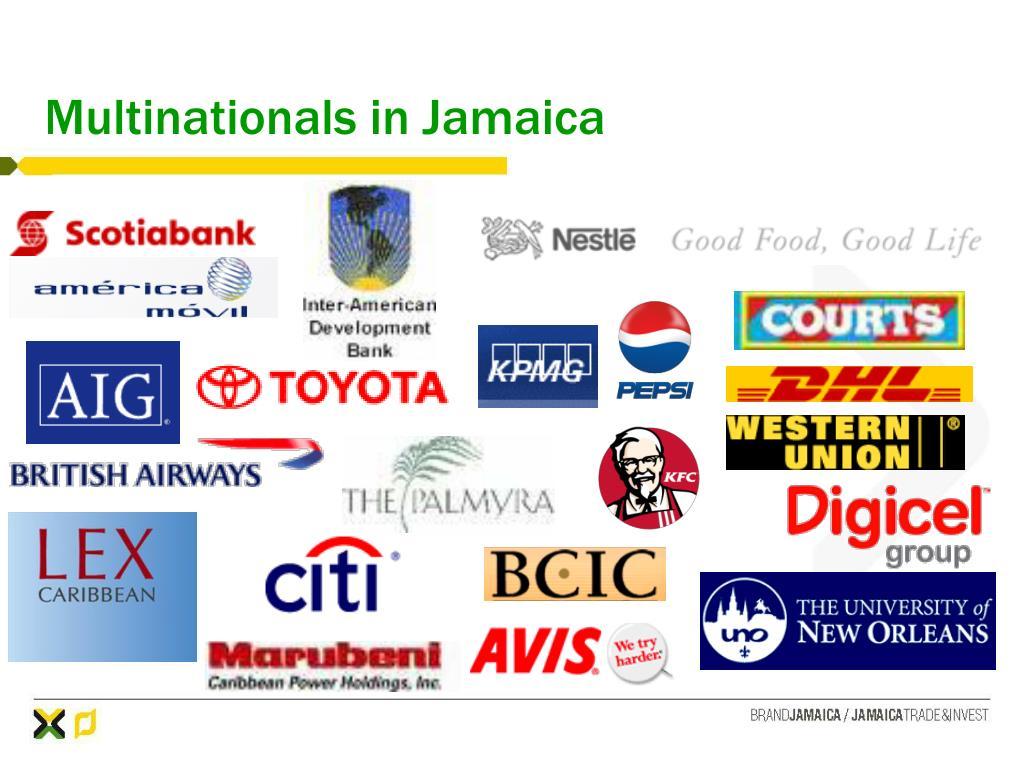 Multinationals in Jamaica