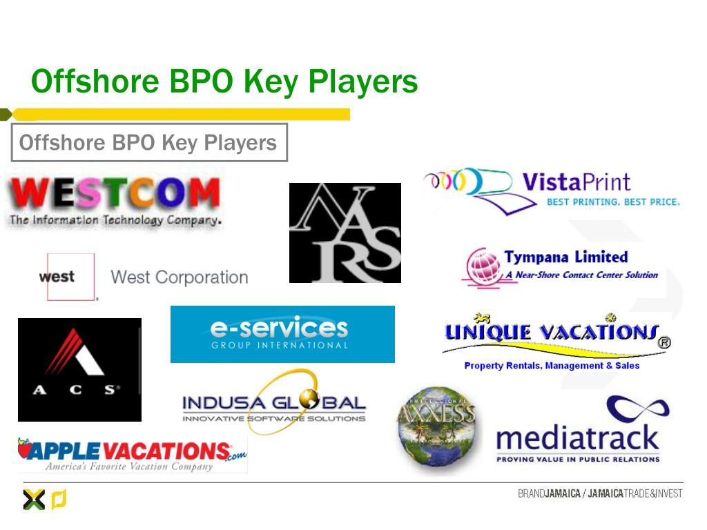Offshore BPO Key Players