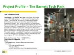 project profile the barnett tech park