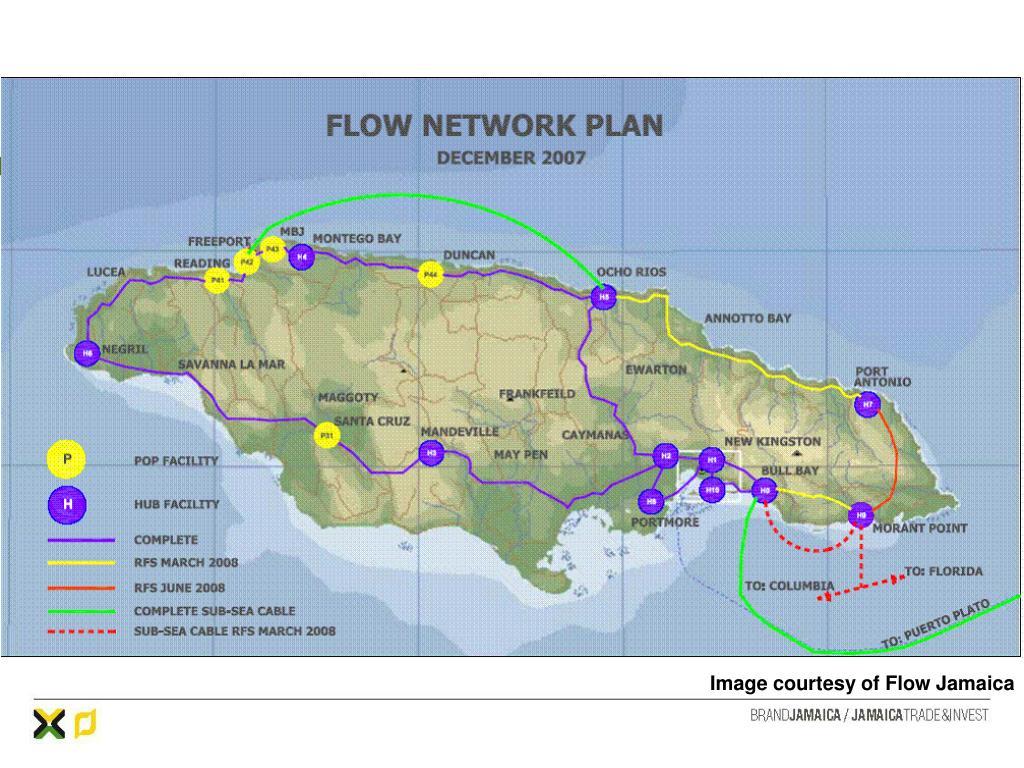 Image courtesy of Flow Jamaica