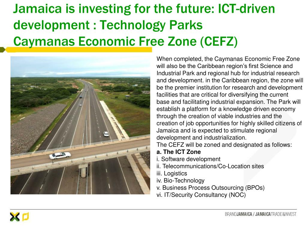 Jamaica is investing for the future: ICT-driven development : Technology Parks
