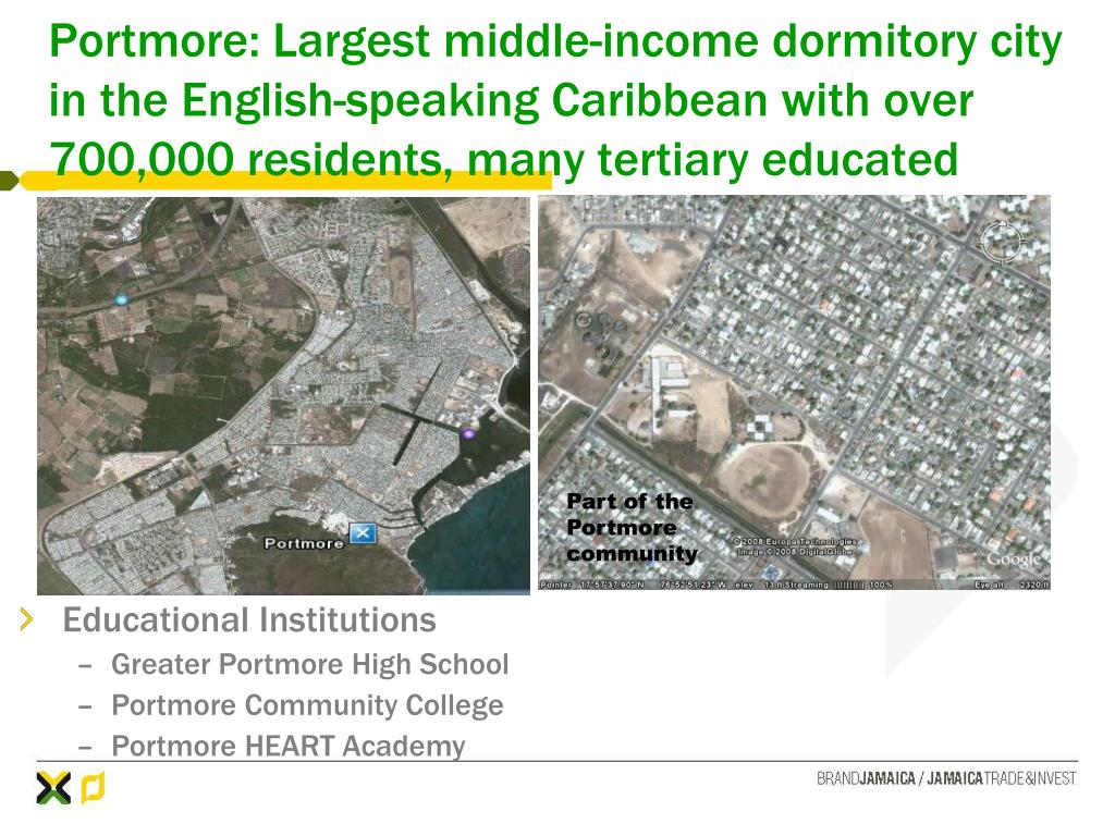 Part of the Portmore community