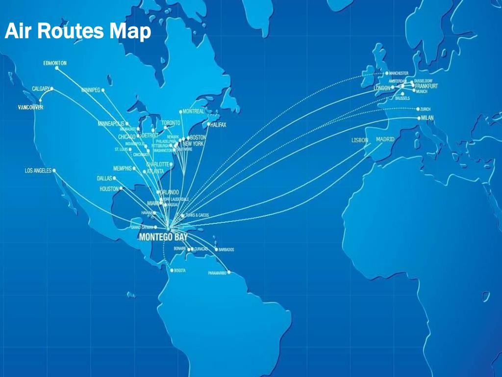 Air Routes Map