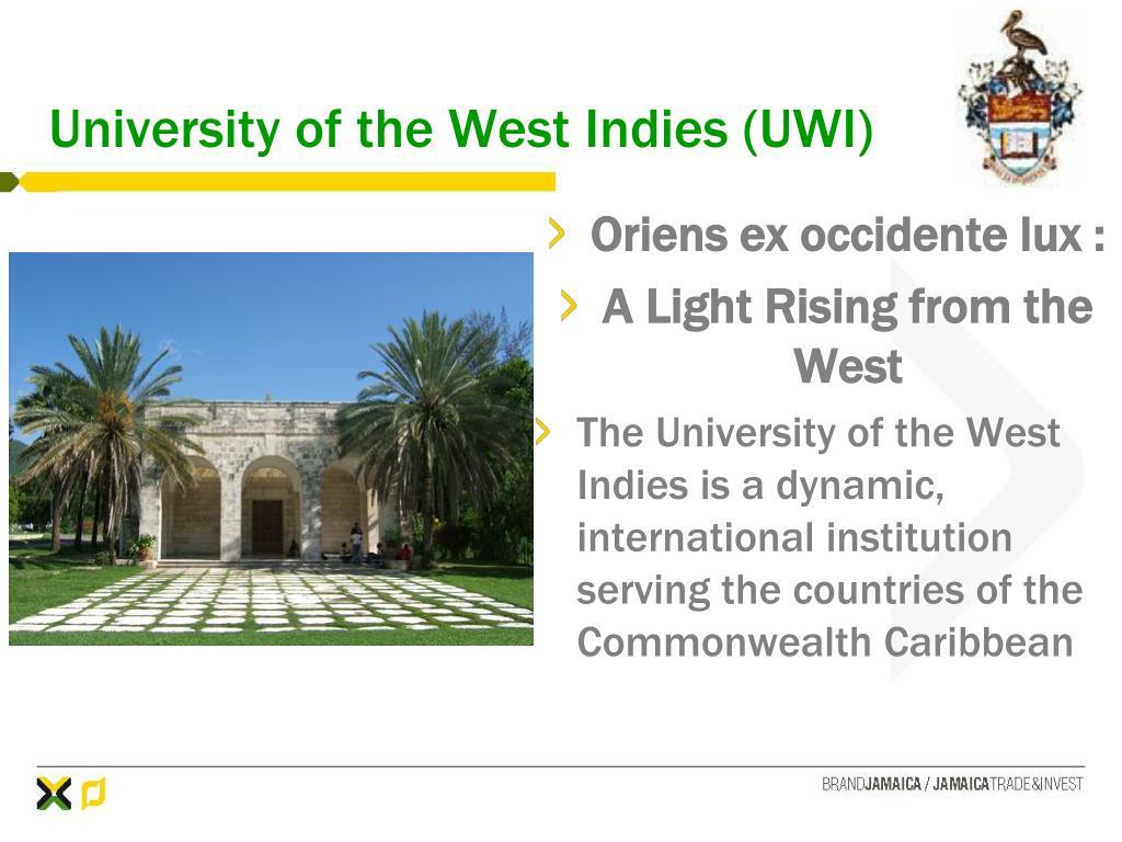 University of the West Indies (UWI)