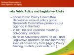 n4a public policy and legislative affairs