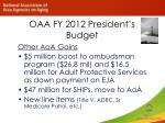oaa fy 2012 president s budget1