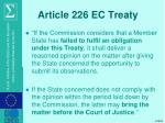 article 226 ec treaty