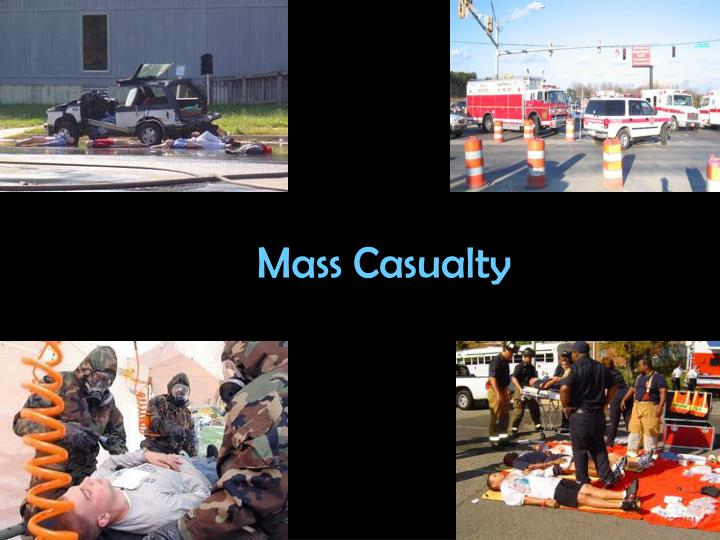 mass casualty n.
