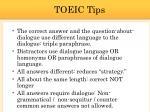 toeic tips