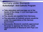 germany under bismarck kulturkampf anti catholic program