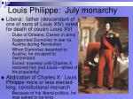louis philippe july monarchy