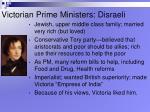 victorian prime ministers disraeli