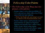 fellowship color palette