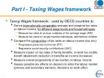 part i taxing wages framework
