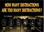 distracted driving statistics