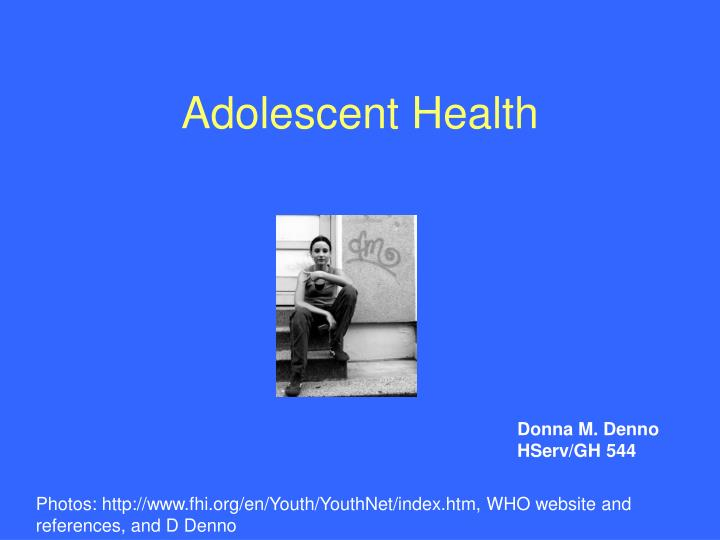 adolescent health n.