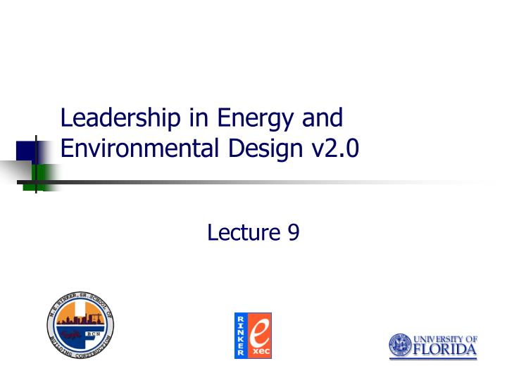 leadership in energy and environmental design v2 0 n.