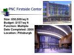 pnc firstside center
